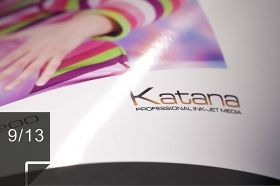 KATANA professional ink-jet media | Double-sided Gloss/Matt 200